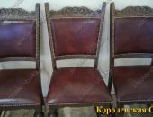 Перетяжка столовых стульев №16