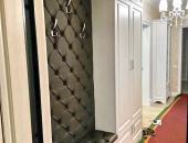 Стеновая панель №17 для вешалки с сиденьем в корпусном шкафу