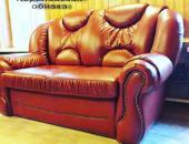 Диван №5 изготовление мягкого дивана в коже
